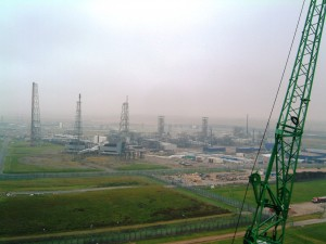 onshore gas gathering plant