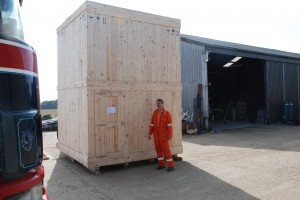 New flare, boxed and ready for delivery