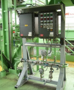 Typical Flare Automatic Electronic Ignition & Monitoring System