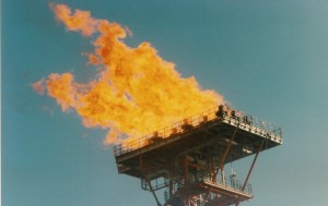 A well designed offshore flare system